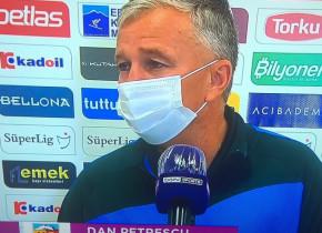 Ce a făcut Dan Petrescu pe teren, imediat după marea victorie în faţa campioanei Basaksehir