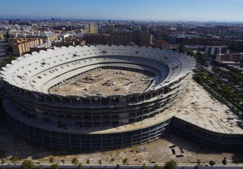 """FOTO Stadionul-fantomă de 300 de milioane € care așteaptă din 2009 să fie inaugurat: """"Va fi cel mai modern din lume"""""""
