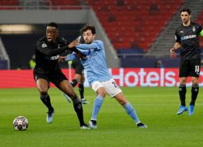 Manchester City, cu un pas în sferturi după 2-0 cu M'Gladbach. Trupa lui Guardiola are 19 victorii consecutive