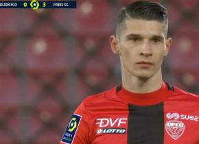 Alex Dobre a fost pe teren cu Mbappe! Antrenorul lui Dijon l-a introdus în ultima jumătate de oră a meciului cu PSG