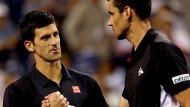 """""""Bă, ești din România"""". Aroganța lui Djokovic, dezvăluită de Hănescu. """"Eu sunt sus, tu ești aici. Nu te bagă în seamă"""""""