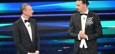 """Zlatan Ibrahimovic, show-total la Sanremo! """"Regulile"""" impuse: """"Anulez festivalul. Să plece violoniștii, rămân doar fetele"""""""