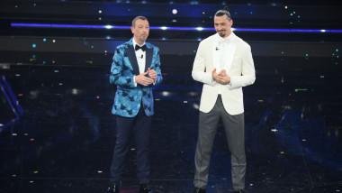 """""""Cum l-am convins pe motociclist?"""". Zlatan Ibrahimovic, ironie în stilu-i caracteristic și o gafă ajunsă virală la Sanremo"""