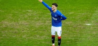 """""""E mai bun decât tatăl său!"""" Ce a făcut Ianis Hagi după super-golul pentru istorie și ce scriu scoțienii despre """"prinț"""""""