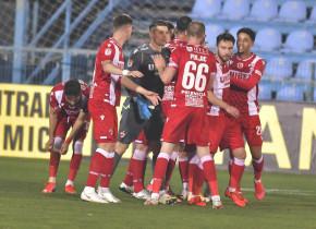 """Dinamoviștii, supărați după egalul cu Voluntari: """"Nu e bine, stăm pe loc. E strâns acolo jos!"""""""