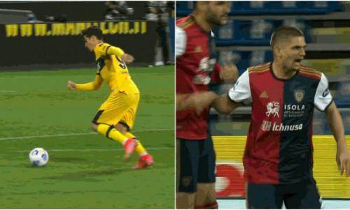 VIDEO Seara românilor în Serie A! Dennis Man și Răzvan Marin, goluri fenomenale într-un interval de 5 minute