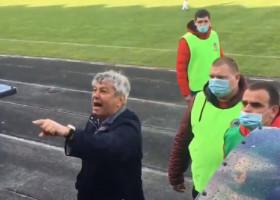 Mircea Lucescu, scandal cu suporterii lui Dinamo Kiev, chiar în timpul meciului! Ce le-a strigat antrenorul român
