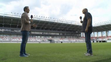 """Dioszegi s-a enervat când a fost întrebat de finanţarea din Ungaria: """"Stadionul e pentru România. Nimeni nu-l duce în altă ţară"""""""