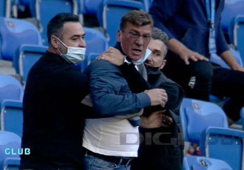 """Cristescu a explicat ieşirea golănească de la Craiova. """"Domnul Croitoru, soţul antrenoarei, ne-a făcut semne obscene"""""""