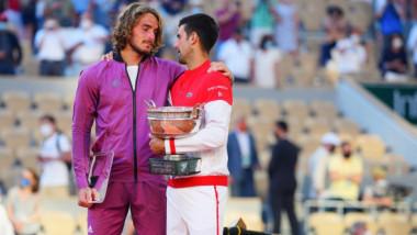 Momentul în care Djokovic i-a cucerit pe greci și a primit ropote de aplauze. Ce i-a spus lui Tsitsipas, după finala de poveste