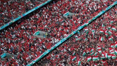Imagini impresionante la Budapesta! Câți suporteri au intrat pe stadion la meciul Ungaria - Franța, de la EURO 2020