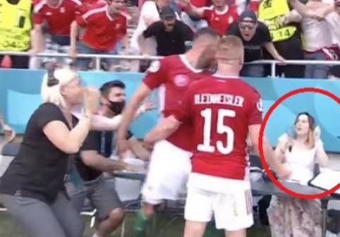 O jurnalistă, victima bucuriei nebune a Ungariei, după golul contra Franței. Cum a fost surprinsă