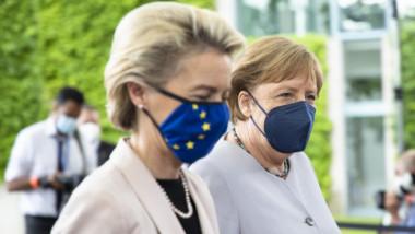 Angela Merkel a reacționat imediat după anunțul făcut de guvernul britanic în privința finalei EURO 2020