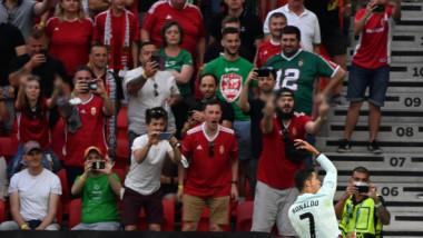 """Gesturi obscene și insulte homofobe la adresa lui Cristiano Ronaldo. Selecționerul Ungariei dezvăluie motivul: """"E enervant!"""""""