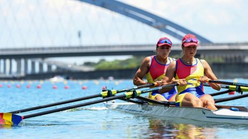 Extraordinar! România a cucerit aurul olimpic la dublu rame feminin. Ancuţa Bodnar şi Simona Radiş, record olimpic!
