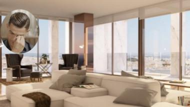 FOTO Cristiano Ronaldo, obligat să demoleze o parte din penthouse-ul de lux, de peste 7 milioane de euro