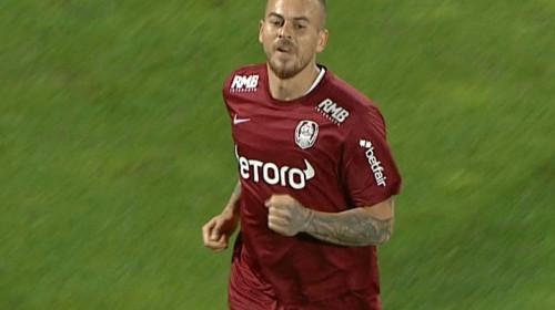 CFR Cluj-Chindia 1-0. Denis Alibec trimite campioana în fruntea Ligii 1