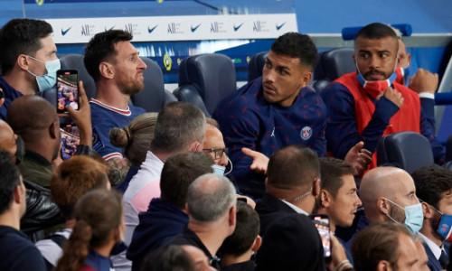 Imaginea surprinsă pe banca PSG-ului după ce Leo Messi a fost schimbat face înconjurul lumii