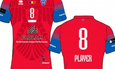 CSA Steaua, gafă gramaticală chiar pe tricourile de joc! Ce greșeală au făcut roș-albaștrii