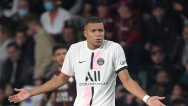 """VIDEO Kylian Mbappe, lipsă crasă de fair-play în meciul Metz - PSG! Cum și-a pus tot stadionul """"în cap"""""""