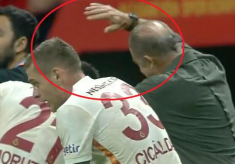 VIDEO Cum a reacționat uriașul Fatih Terim, după primul gol marcat de Olimpiu Moruțan la Galatasaray