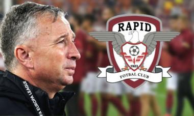 Dan Petrescu vrea neapărat să transfere un jucător de la Rapid! CFR Cluj a pregătit oferta