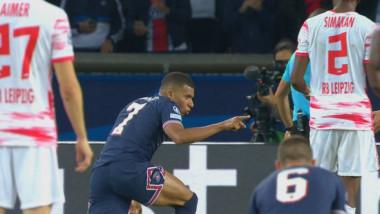 Cum explică Mbappe gestul făcut către Messi la faza penalty-ului. Imaginile au devenit virale