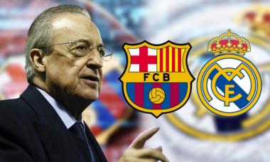 """Trădare înainte de """"El Clasico""""! Un star de la FC Barcelona, propus lui Florentino Perez pentru Real Madrid"""