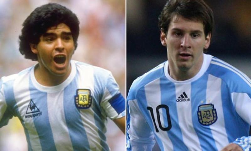 """""""Maradona, preș de șters pe picioare! / Messi, cel mai bun din istorie!"""". Declarația care a învolburat apele în fotbal"""