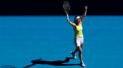 Simona Halep a asistat la cea mai tare revenire de la Australian Open