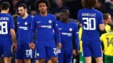 Chelsea - Norwich 1-1 (5-3 d.l.d.). Calificare cu mari emoții pentru Chelsea, cu doi eliminați în prelungiri