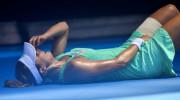 A servit şi s-a prăbuşit! Imagini dramatice în această noapte, la Australian Open