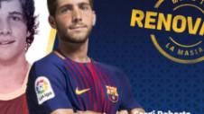 Sergi Roberto își reînnoiește contractul cu Barcelona. Clauză de reziliere uriașă!
