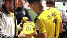 Dorit de Arsenal, Auba a jucat fotbal cu prietenii în timp ce Borussia avea meci