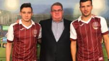 Costache, un nou gol la CFR Cluj. Echipa lui Dan Petrescu a învins cu 3-1 Rapid Viena
