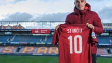 Stanciu a semnat contractul cu Sparta și a fost prezentat de cehi. Primele imagini