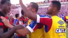 """Bătaie generală la un meci din Brazilia. Nouă jucători, eliminaţi în """"meciul păcii"""""""