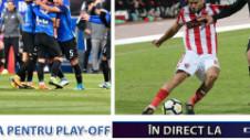 Bătălia finală pentru play-off! Astra - Dinamo şi Iaşi - Viitorul: trei formaţii se bat pe două locuri, în direct pe Digi Sport