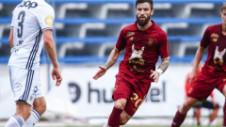 Gabriel Enache a debutat deja pentru noua sa echipă. Antrenorul l-a folosit titular