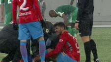 Alarmă la FCSB. S-a accidentat Cristi Tănase în ultimul meci din sezonul regulat