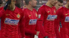 FCSB - Sepsi 2-0. Roş-albaştrii au suferit, dar au terminat sezonul regulat cu o victorie