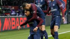"""PSG - Marseille 3-0. Parizienii s-au distrat cu rivalii în """"clasicul Franței"""", dar au rămas fără Neymar"""