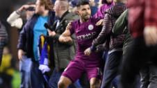 City, eliminată din Cupă de celebrul Will Grigg. Aguero a lovit un fan şi riscă o suspendare drastică