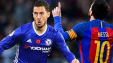 """Hazard rămâne modest: """"Este frumos să fii comparat cu cei mai mari, Messi sau Ronaldo"""""""
