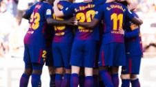 Două meciuri o despart pe Barcelona de egalarea unui record vechi de aproape 40 de ani