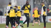 Usain Bolt, bun la alergat, slab la fotbal. Ce a făcut la primul antrenament cu Dortmund