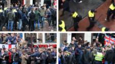 Ultrașii englezi au făcut ravagii la Amsterdam. S-au bătut cu cei olandezi și cu polițiștii