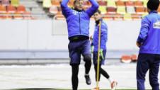 Lobonț, în mare formă la 40 de ani! Unde s-au antrenat tricolorii înainte de plecarea spre Israel