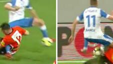 Craiova putea primi penalty în primul minut! Intervenție tare a portarului asupra lui Bancu