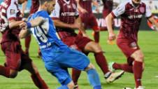 CSM Iaşi - CFR Cluj 1-1. Moldovenii, primul punct în play-off. FCB rămâne lider solitar